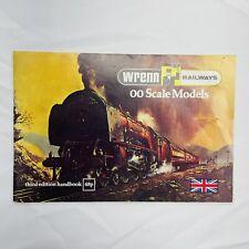VTG Wrenn Railways 00 Scale Models Third Edition Handbook and Price List 1978