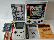 Nintendo Gameboy Color Pokemon Center Limited Edition console Boxed tested-c0114