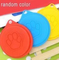 Pet Food Can Cover Lid Dog Cat Pet Tin Plastic Reusable Storage Cap Top 88mm C