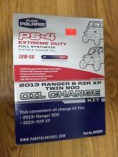 Polaris Oil Change Kit Extreme Duty 2013+ Ranger 900, 2013+ RZR XP 2879324