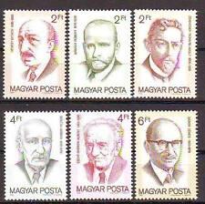 HUNGARY 1988 MNH 6v, Nobel Prize Winners, Barany Robert, R. Adolf, Hevesy Gyorgy