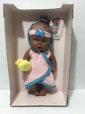 "Vintage 12"" Gerber Baby Doll Partial Packaging Ducky African American Black"