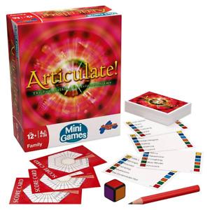 Articulate! Mini Game Board Game NEW