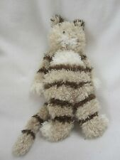 "Jellycat 12"" Bungle Brown Striped Cat Kitten Soft Toy Plush Beanie Comforter"