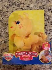 Teddy Ruxpin Grubby Sing A Long Grubby New 2018 Sings Clips From Its Your Bday