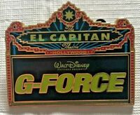 G-Force El Capitan Marquee DSF DSSH Disney LE 300 Pin 72004