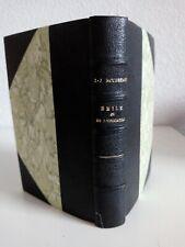 J.-J. ROUSSEAU Emile ou de l'éducation Edition Garnier