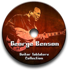 George BENSON JAZZ GUITAR TAB tablature SONG BOOK CD software