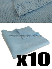 SERIOUS PERFORMANCE 40x40cm 320gsm EDGELESS MICROFIBRE TOWEL - 10x PACK