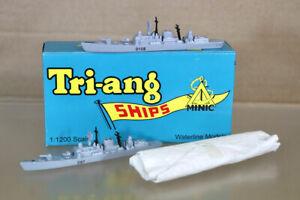 TRIANG MINIC SHIPS N741 N742 N743 HMS CARDIFF NEWCASTLE & GLASGOW FRIGATE nz