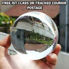 100mm Glass Crystal Paper Weight Clear Sphere Natural Quartz Ball Magnifying