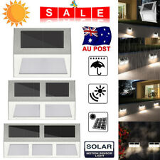 LED Solar Stairs Light Garden Yard Waterproof Stainless Steel Outdoor for Decor