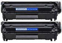 2 PacK 104 Toner Cartridges FX9 For Canon ImageClass MF4150 MF4350D D420 D480