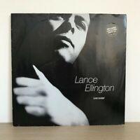 """Lance Ellington - Love Scared 12"""" Vinyl Funk Soul 1990 A&M Records 4 Mixes"""