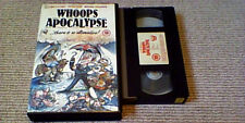 WHOOPS APOCALYPSE VIRGIN PREMIERE UK PAL VHS VIDEO 1986 Loretta Swit Peter Cook