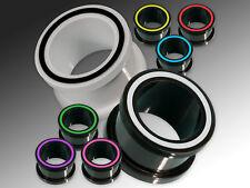 Silikon Tunnel Flesh Ohr Plug flexibel weich Sport Plugs 1 Stück 4-22 mm