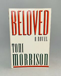 Beloved-Toni Morrison-SIGNED!-INSCRIBED!-First/1st Softcover Edition-VERY RARE!!