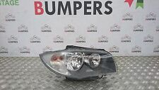 BMW E87 03-07 1 SERIES DRIVER SIDE HEADLIGHT HEADLAMP FRONT LAMP RIGHT O/S