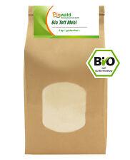 BIO Teff Mehl - 1 kg, glutenfrei (12,90 €/kg)