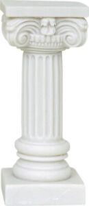 Ancient Corinthian Column Alabaster Statue / Sculpture 17cm / 6.69inches NEW