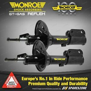 Pair Front Monroe Reflex Shock Absorbers for CITROEN C4 Coupe Hatchback 1/06-on