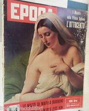 EPOCA 3 Agosto 1958 Marisa Borroni Pattoi Bagdad Cavicchi Soraya Audrey Hepburn