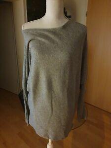 Styleboom Gr S 36 Grau Pullover Pulli Fashion Brand Neu Stylisch Oberteil Damen