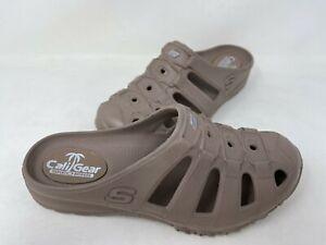 NEW! Skechers Women's Foamies Speedsters Meander Clog Sandals Brn #11120 202T tz