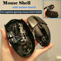 Gaming Mouse Shell Case+Button Board Replacement Part Set for Logitech G304 G305
