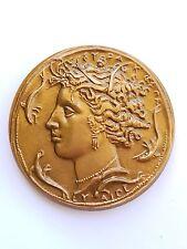 Medaille bronze syndicat général construction électrique Roland Robert 1973.AV65