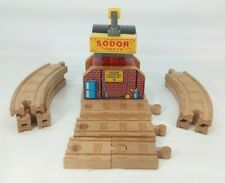 Thomas & Friends Wooden Railway Learning Curve Sodor Shipping Company #2 w cargo