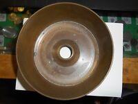 Artillery Shell  Antique Vintage Brass Bronze Trench Art Casing