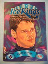 "1993-94 Donruss ""Ice Kings"" (Art Card) # 6 of 10 Felix Potvin!"