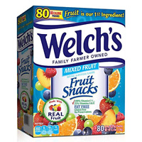 Welch's Fruit Snacks, Mixed Fruit, Gluten Free, Bulk Pack, 0.9 oz Individual of