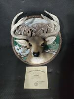 The Bradford Exchange - The Buck - 1998 Limited Edition - Decorative Plates