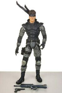 "Metal Gear Solid SOLID SNAKE 6"" Action Figure McFarlane 1999"