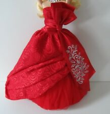 2010 HOLIDAY BARBIE OUTFIT AND ACCESSORIES ONLY NEVER DISPLAYED OR PLAYED WITH