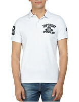NEW Superdry Superstate Polo White