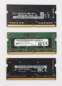 4GB DDR4 2666MHz Laptop RAM ~ PC4-21300 PC4-2666V ~ SODIMM Memory 260pin iMac 5K