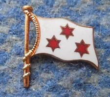 KW 04 POZNAN ROWING POLAND CLUB 1980's ENAMEL PIN BADGE