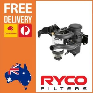 Ryco Catchcan Water Separator Complete Kit fits Mazda BT50 3.2lt Turbo Diesel