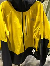 The North Face Summit Series L4 Windstopper  Hoodie Jacket Yellow Men's XL NEW
