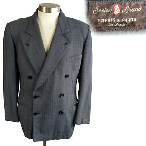 1940s double breasted suit jacket  blazer