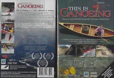 This is Canoeing 12 Adventure Films 2 Dvd Set New 3 Hours