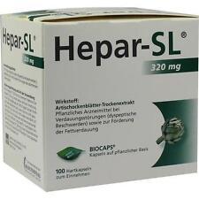 Hepar SL 320 mg capsule rigide Capsule rigide di 100st PZN 9530449