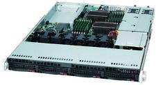 UXS Server Supermicro 1U 4 bay 2x Xeon X5675 6 Core 3.06Ghz 32GB Ram Dual 650Wat
