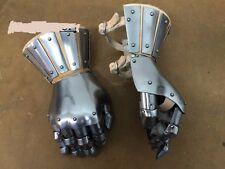 Armor Medieval Knight Gauntlets Functional Steel Armor Gloves