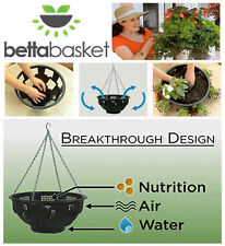Betta Basket Planters 12 Side Panel Hanging Chain Plants Veggies Flower Pot hook