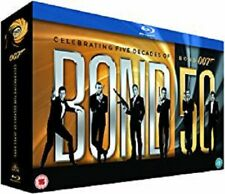 James Bond Collection    22 Disc Blu-ray Box Set        New        Fast  Post