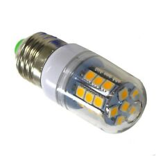 E27 LED 27-SMD-5050 Camping 12V / 24 V . 3,8W = 40W, Rundstrahler, 500lm, Warm